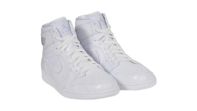 Kobe Air Jordan 1 White