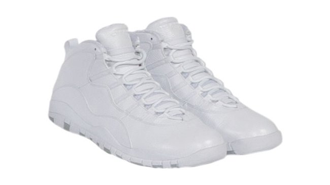 new concept 4ede5 c7b0a low price air jordan 10 all white fa62b 3c659