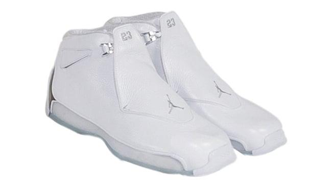 Kobe Air Jordan 18 White