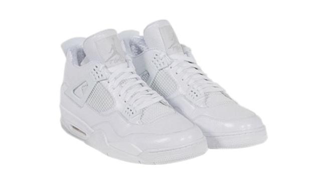 Kobe Air Jordan 4 White