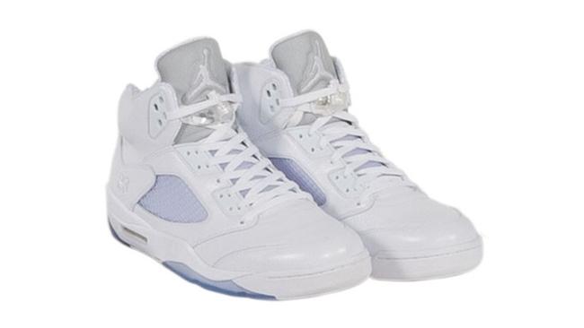 Kobe Air Jordan 5 White