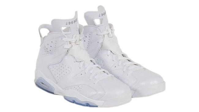 Kobe Air Jordan 6 White