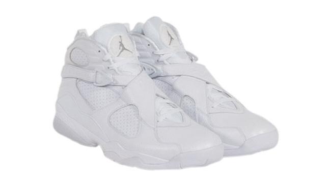 Kobe Air Jordan 8 White