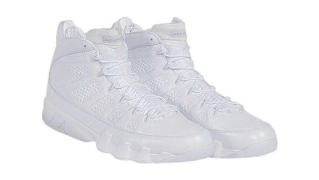 Kobe Air Jordan 9 White