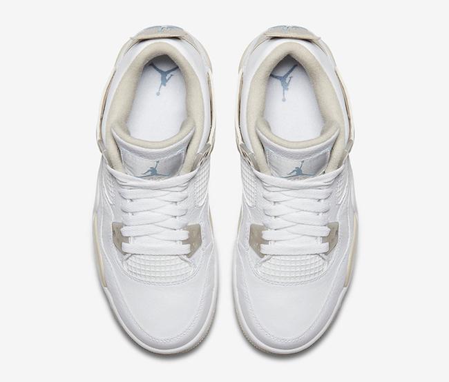 Linen Air Jordan 4 GS 487724-118