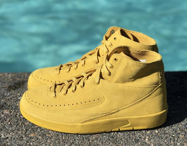 Mineral Gold Air Jordan 2 Decon