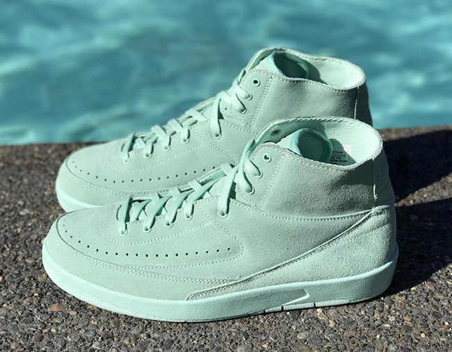 Mint Foam Air Jordan 2 Decon