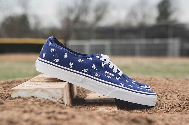 MLB x Vans Los Angeles Dodgers Pack  aa85d96f5
