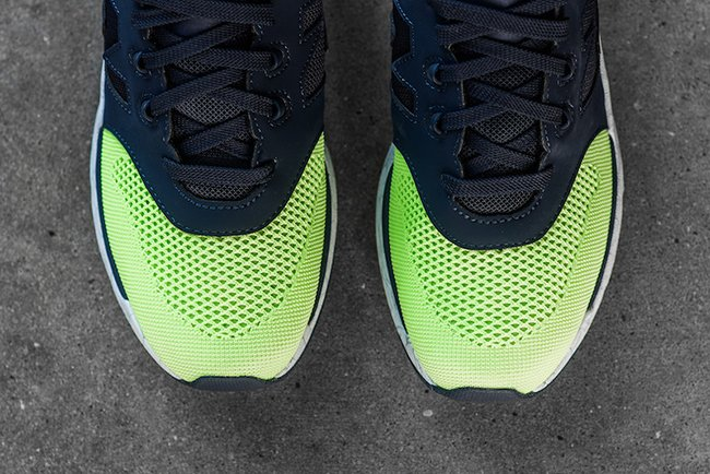 New Balance 009 Navy Lime Glow