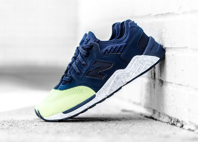 New Balance 009 Navy Lime Glow
