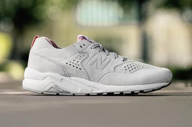 New Balance 580 Re-Engineered White Rose