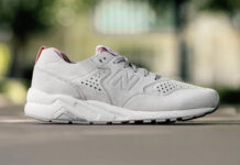 New Balance 580 Re-Engineered White Rose