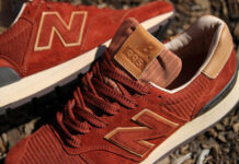 New Balance 995 Brown Tan