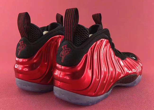 Nike Air Foamposite One Metallic Red 2017 Release Date