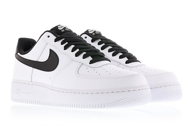 Nike Air Force 1 Low White Black 820266 101 Sneakerfiles