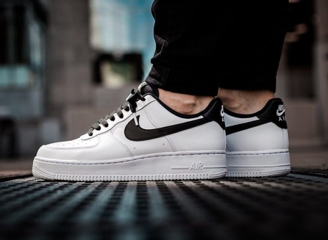 the best attitude 5488a 6a730 Nike Air Force 1 Low White Black