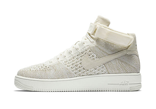 Nike Air Force 1 Mid Flyknit Sail