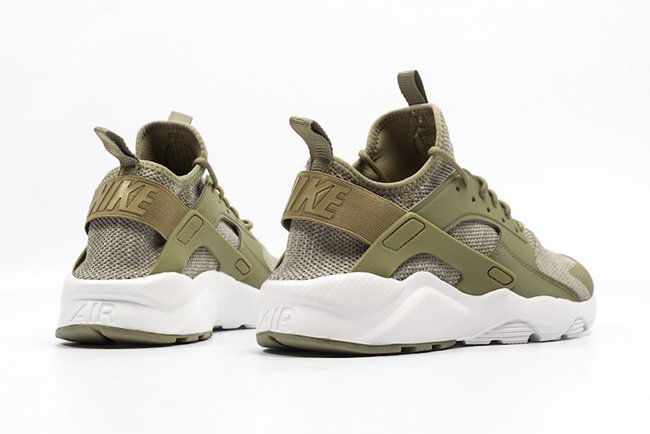 nike air huarache run ultra premium olive sneakers cartel. Black Bedroom Furniture Sets. Home Design Ideas