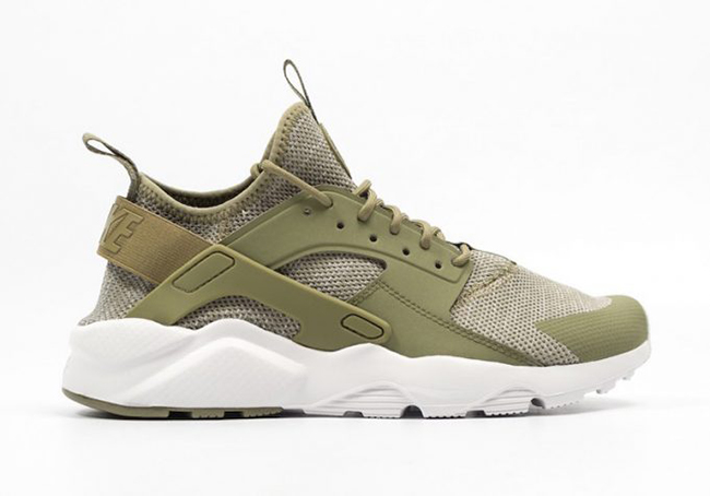 nike air huarache khaki green