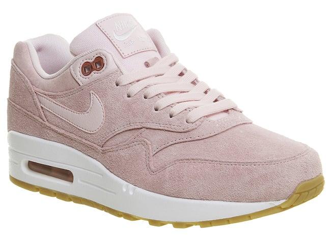 air max 1 gold pink