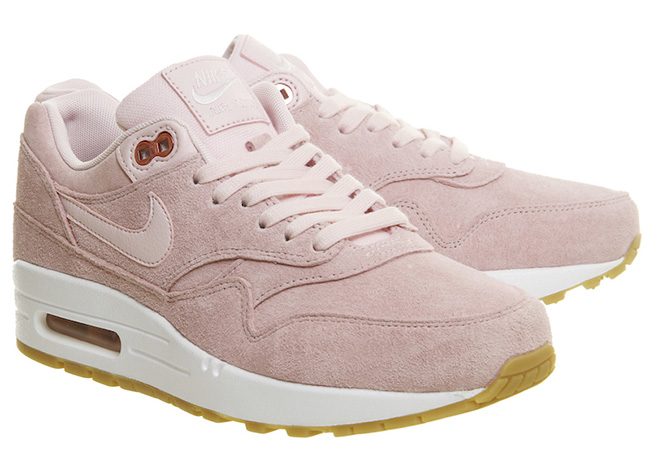 Nike Air Max 1 Pink Suede