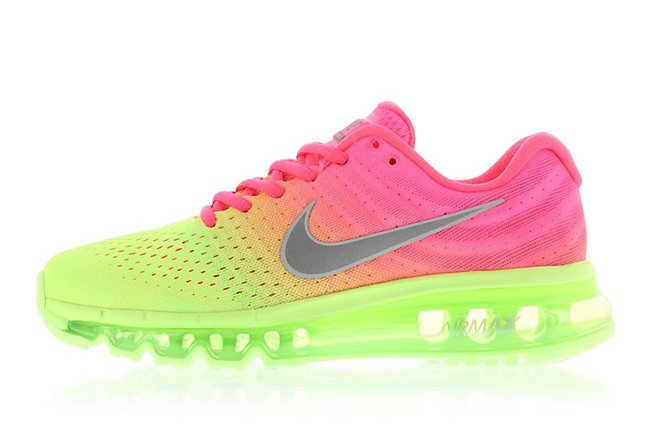 Nike Air Max 2017 Racer Pink Ghost Green