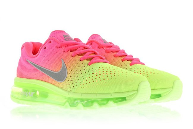nike air max 2017 pink and white