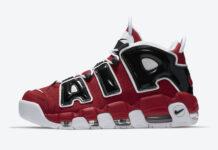 Nike Air More Uptempo Bulls Black Varsity Red 921948-600 Release Date