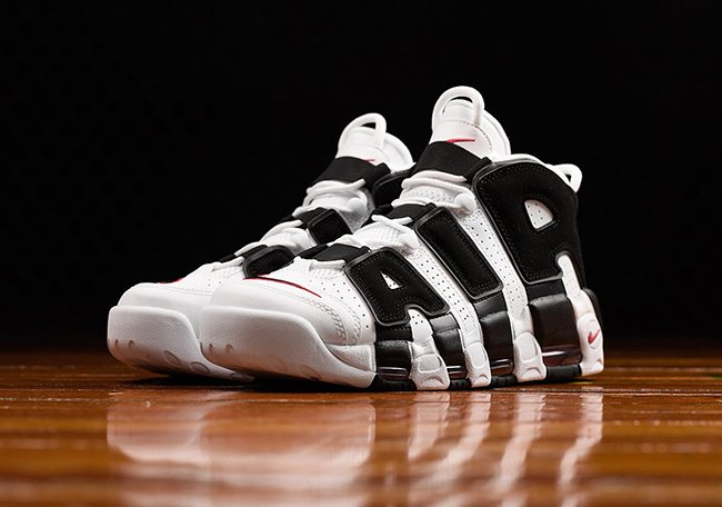 Nike Air More Uptempo Scottie Pippen PE White Black Red
