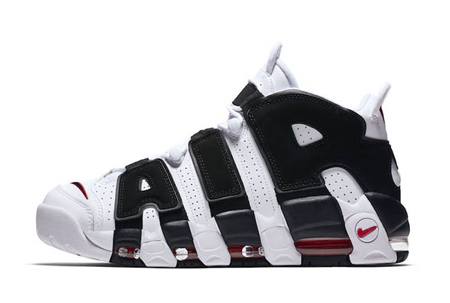 Nike Air More Uptempo White Black Release Date
