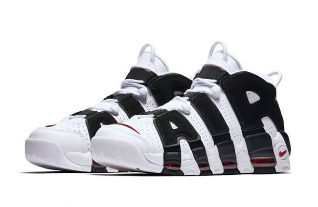a842246520a Nike Air More Uptempo White Black 414962-105 Release Date