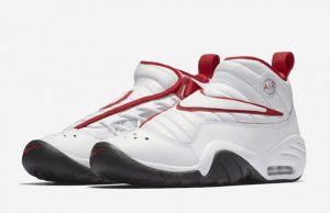 Nike Air Shake NDestrukt OG White Red Black Bulls