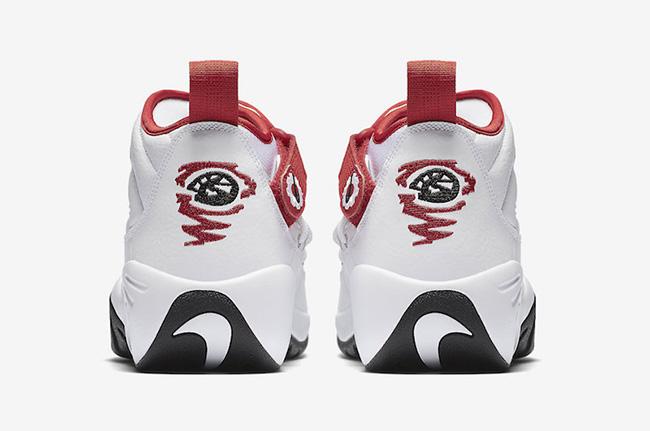 Nike Air Shake NDestrukt OG White Red Black Bulls