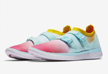Nike Air Sock Racer Flyknit Glacier Blue Racer Pink