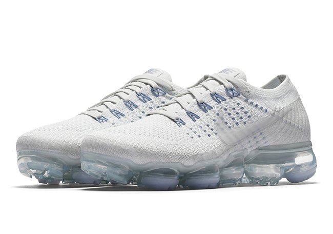 Nike Air VaporMax White Blue