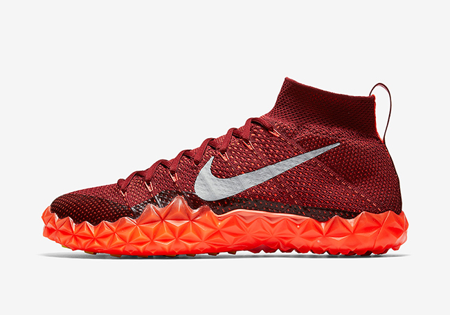 Nike Alpha Sensory Turf Total Crimson