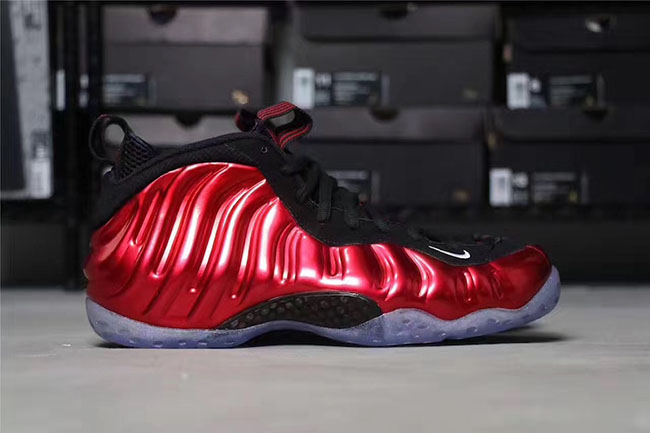 Nike Foamposite One Metallic Red 2017