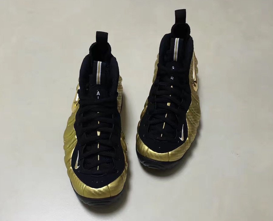 Nike Foamposite Pro Metallic Gold 2017 624041-701