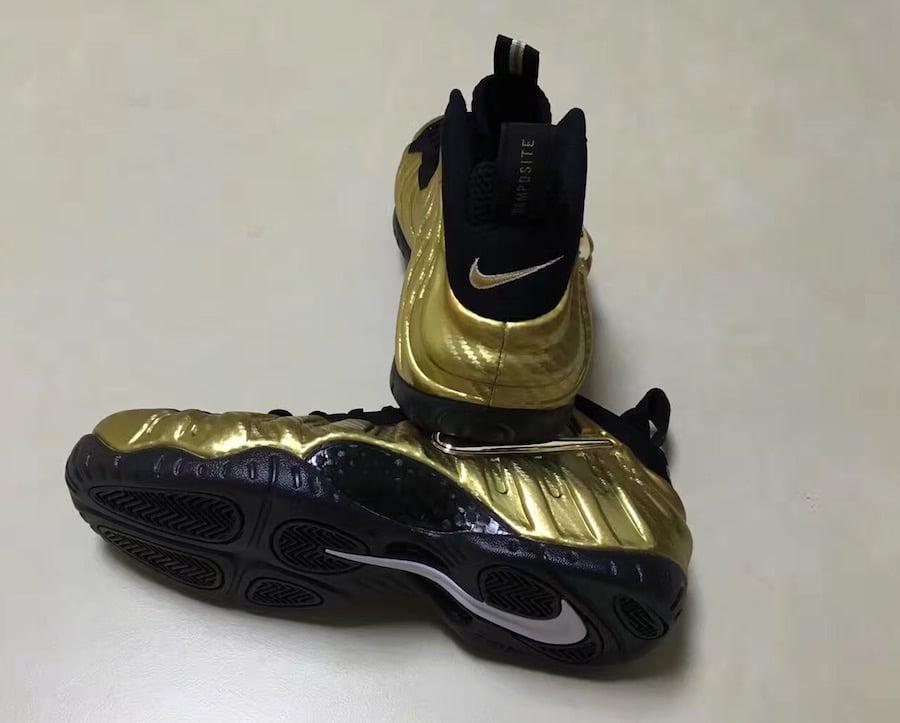602f2ba82f2 Nike Air Foamposite Pro Metallic Gold 624041-701 Release Date ...
