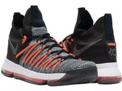 Nike KD 9 Elite Dark Grey Hyper Orange Release Date