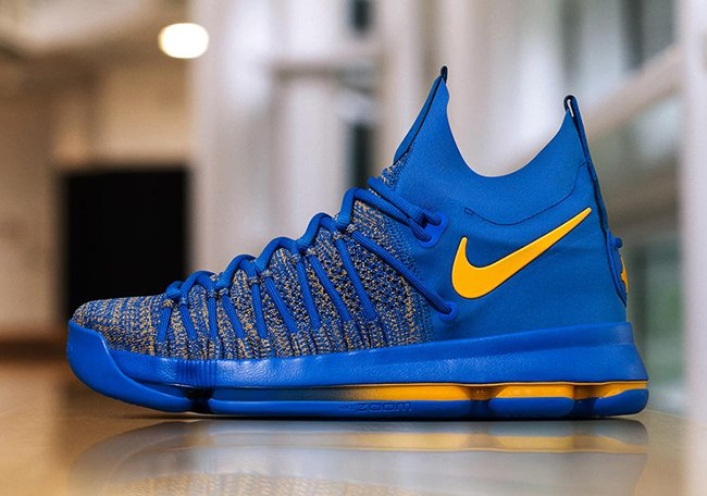 new arrivals 06430 8de26 ... new zealand nike kd 9 elite golden state warriors pe 45a4e 9d078