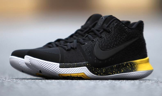 Nike Kyrie 3 Black Varsity Maize Yellow 852395-901