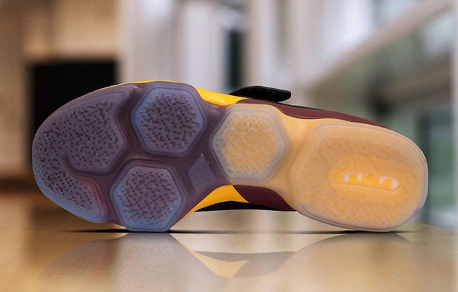 Nike LeBron 14 Cavs PE Black Wine Gold