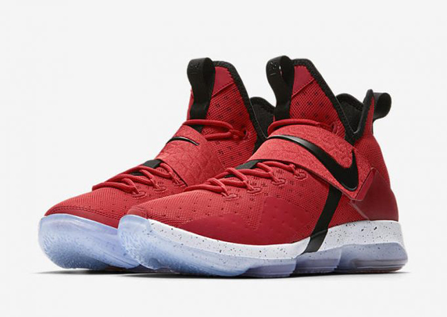 0db45d751b47 Nike LeBron 14 Red Brick Road 852405-600 Release Date
