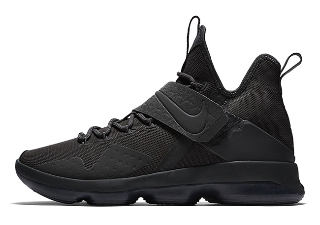 Nike LeBron 14 Triple Black Zero Dark Thirty