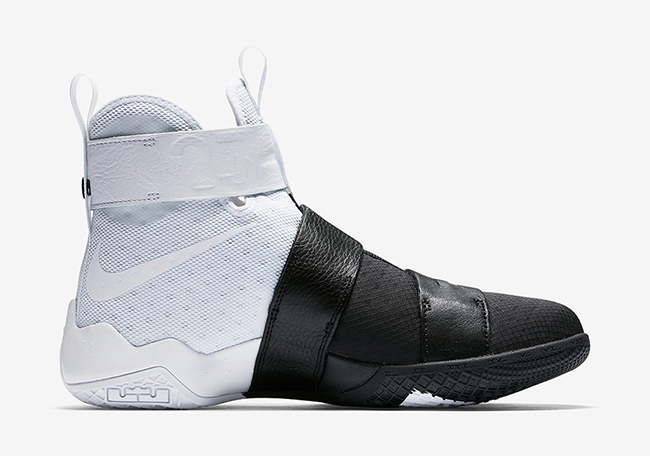 Nike LeBron Soldier 10 Pinnacle White Black