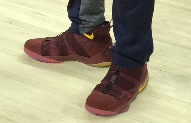 363e60d01b10 Nike LeBron Soldier 11 Cavs PE Playoffs