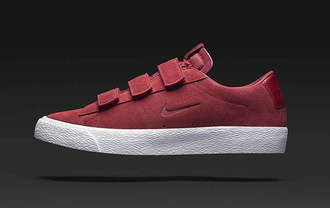 Nike SB Blazer AC Numbers Team Red