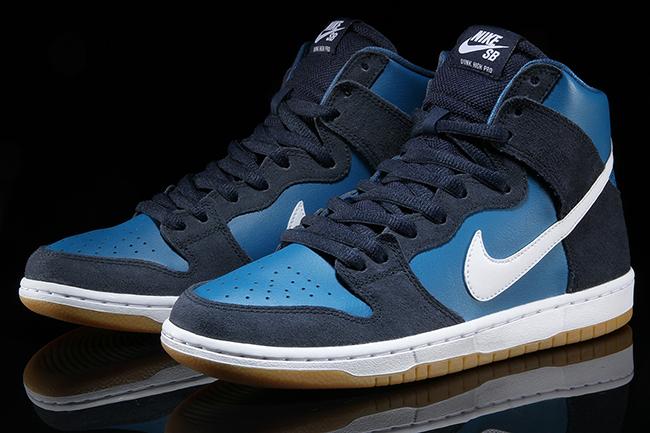 Nike SB Dunk High Obsidian Industrial Blue
