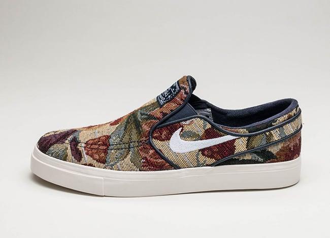Nike SB Zoom Stefan Janoski Slip-On Floral Release Date